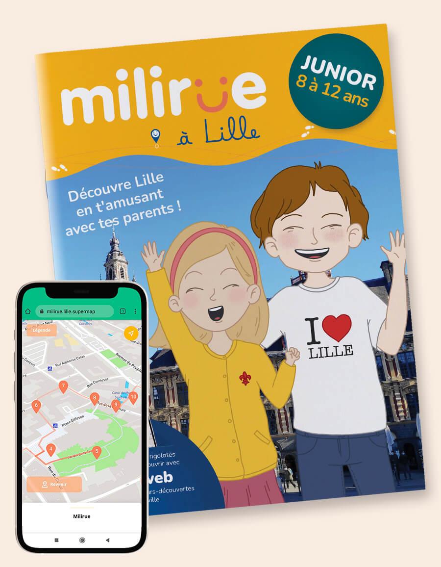 Carnet junior - Milirue à Lille