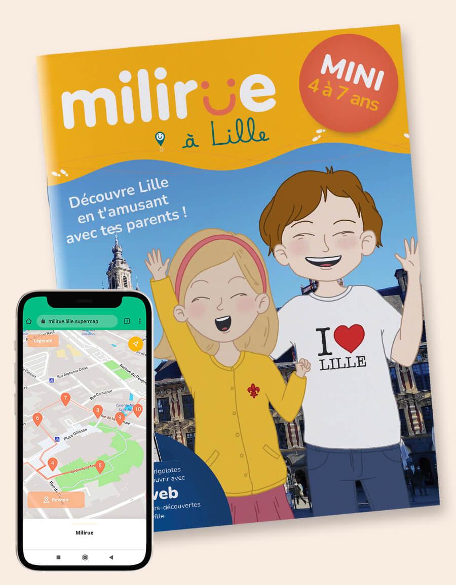 Carnet mini - Milirue à Lille